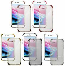 Shockproof 4-Corner Bumper Case Gel Cover for Apple iPhone Models