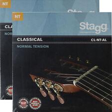 2er-Pack Nylonsaiten Klassik Konzert Gitarre Saiten Seiten Gitarensaiten 2 Sätze
