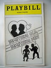 SOMETHING OLD SOMETHING NEW Playbill MOLLY PICON Tryout BOSTON Flop 1976