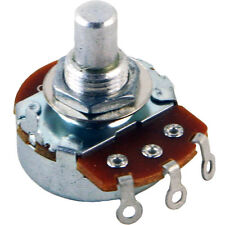 "Alpha 3/8"" Bushing Potentiometer, 1M Audio, Solid Shaft 24mm Body"