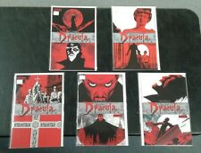 The Complete Dracula #1-5 FULL Set Lot Run (Dynamite 2009)! Leah Moore ALL NM!