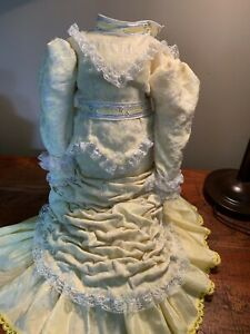 "Doll Dress Vintage for Antique 24-25"" French German Dolls"