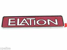 Genuine New CITROEN ELATION BADGE Pink Boot Emblem For AX 1986-1998 & ZX 1991-98
