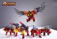 Transformers TFC Toys Dinobots ARES Predaking Combiner Full Set Of 5 MIB Xmas