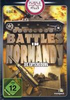 PC-Spiel + BATTLES IN NORMANDY + Die Entscheidung + Strategie + Allierte + Vista