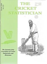 THE CRICKET STATISTICIAN Spring 2004  No.125 ACS Publications Paperback