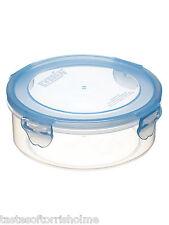2 x kitchen craft pureseal 570ml ronde en plastique alimentaire conteneur de stockage