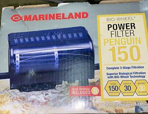 MarineLand Penguin 150 BIO-Wheel Power Filter 30 Gallon