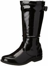 Girls Boots Black Patent Heart Treat 2 UM Kenneth Cole NEW Little Girls Size 7