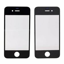 Front Screen Glass Lens For iPhone 4 Black