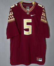 Nike estatal de Florida Fsu Seminoles jameis Winston #5 Jersey Camisa Tamaño M USA NCAA