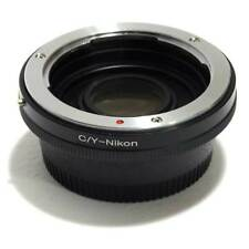 Bague d'adaptation Contax lentilles Yashica sur Nikon avec verre optique
