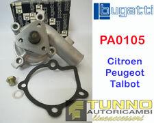 Pompa Acqua Bugatti PA 0105 Citroen Peugeot Talbot C15 205 309 Horizon Solara