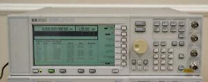 HP Agilent E4422B ESG-A Signal Generator 250khz-4GHz opt UNB NEEDS REPAIR