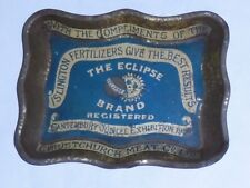 ECLIPSE Islington FERTILIZER 1900 tip tray CANTERBURY JUBILEE EXHIBITION Meat Co