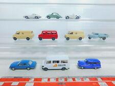 BY361-0,5# 10x Wiking H0/1:87 Modell: Opel + DKW + BMW + MB + Goli etc, TOP