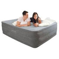 Intex Luftbett Comfort mit Pumpe 230V selbstaufblasend Luftmatratze Gästebett