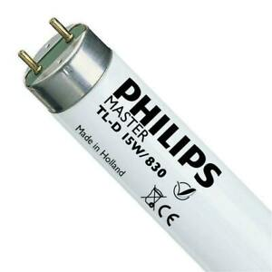 PHILIPS MASTER TL- T8 Fluorescent Tube 15w 450mm (18 Inch) 830 Warm White 3000k