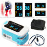 New pulse oximeter blood oxygen heart Rate Spo2 Monitor OLED O2 Sensor with Case