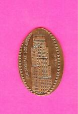 """Oue Skyspace La Gift Shop """"Hard to Get"""" Los Angeles Ca Elongated Pressed Penny"""