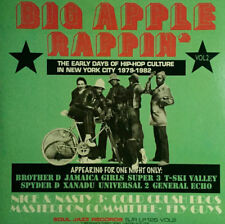 BIG APPLE RAPPIN - BIG APPLE RAPPIN VOL 2 * LP VINYL * FREE P&P UK ** HIP HOP **
