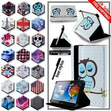 """For Various 10"""" Acer Iconia Tab Tablet - Folio Stand Leather Cover Case + Stylus"""