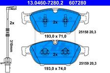Bremsbelagsatz Scheibenbremse - ATE 13.0460-7280.2