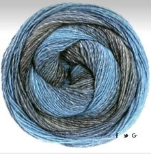 Lana Grossa Gomitolo Versione 200g Dochtgarn Fb. 402 Hellblau/Jeans/Graublau