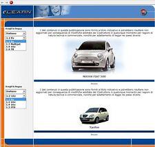 Manuale Officina x Fiat 500; Lancia Ypsilon; Manutenzione Ordinaria