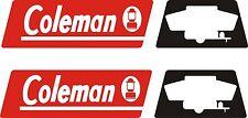 Coleman Fleetwood RV Decal pop-up camper logo sticker