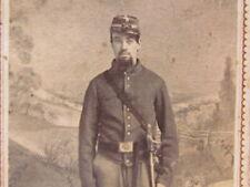 1st Cavalry Civil War soldier in New Orleans cdv photograph