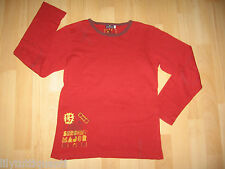 SERGENT MAJOR ♥ T-shirt manches longues rouges ♥ 12 ans