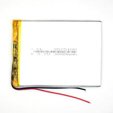 3.7V 3800mAh 3575100 Li-Polymer Rechargeable Cell Li-ion LiPo Battery for PAD