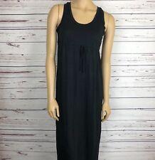 GAP Womans Dress Maternity SZ S Maxi Empire Waist Adjustable Drawstring Stretch