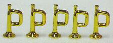5 TROMPETEN GOLD CHROM-GLANZ PLAYMOBIL TOP zu KLICKY 3242 3408 3420 3388 GARDE
