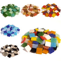 400 Vitreous Glass mosaic tiles for Arts and Crafts - Various Mixes