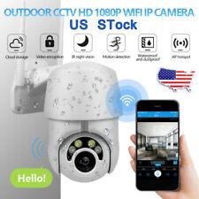 1080P IR Camera Security IP Outdoor WiFi Night Vision PTZ Speed Dome CCTV WiFi