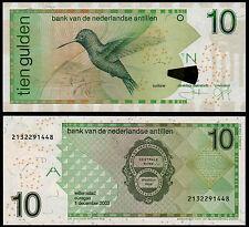 NETHERLANDS ANTILLES 10 GULDEN (P28c) 2003 UNC