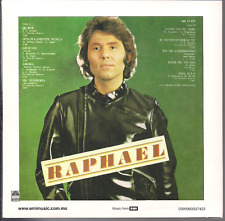rare POP BALADA CD slip RAPHAEL y sigo mi camino SE FUE sencillamente nunca