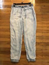 MICHAEL KORS Chambrey Light Denim Jogger Pants Size 4