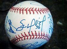 Autographed MLB ball: Mesoraco, Todd Frazier, Yelich,  Profar, Prado Signed
