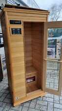 Sauna King FIR-023L Infrarotkabine Wärmekabine Infrarotsauna 185x80x80cm