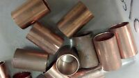 "Copper Coupling, SLIP-internal smooth STYLE, For 5/8"" O.D. Tubing SET OF TWO (2)"
