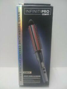 """Conair Infiniti Pro 1"""" Nano Tourmaline Ceramic Styling Brush BC2NWTPN"""