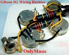 COMPATIBLE WITH GIBSON SG BUMBLE BEE REPRO VINTAGE WIRING HARNESS
