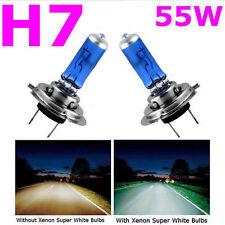 2 PCS H7 5000K Xenon Gas Halogen Headlight White Car Light Lamp Bulbs 55W 12V Q9
