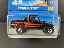1997 Hot Wheels Trailbuster #525 Black Truck BW Diecast Car 16808 NEW