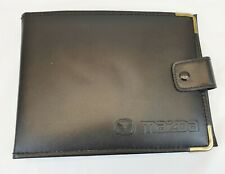 MAZDA MX5 WALLET 1998 - 2003 - Black / Gold Edging - USED