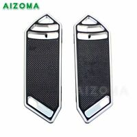 Front Foot Board Rider/Driver Floorboard Pad For For Harley Touring 2015 Bobber