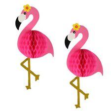 1pcs Flamingo Honeycomb Paper Balls Home Hanging Hawaii Party Decor Supplies